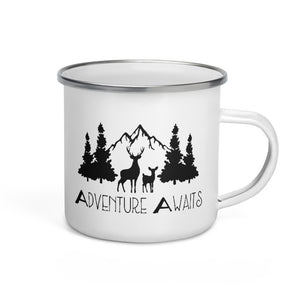 Adventure Awaits | Campfire Mug