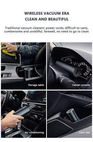 New Portable  Strong Car Suction Vacuum Cleaner - Saniplex Solutions