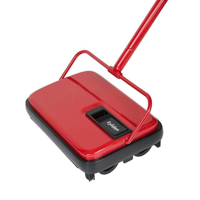 Carpet Floor Sweeper Cleaner Hand Push Automatic Broom for Home Office Carpet Rugs Dust Scraps Paper Cleaning with Brush - Saniplex Solutions
