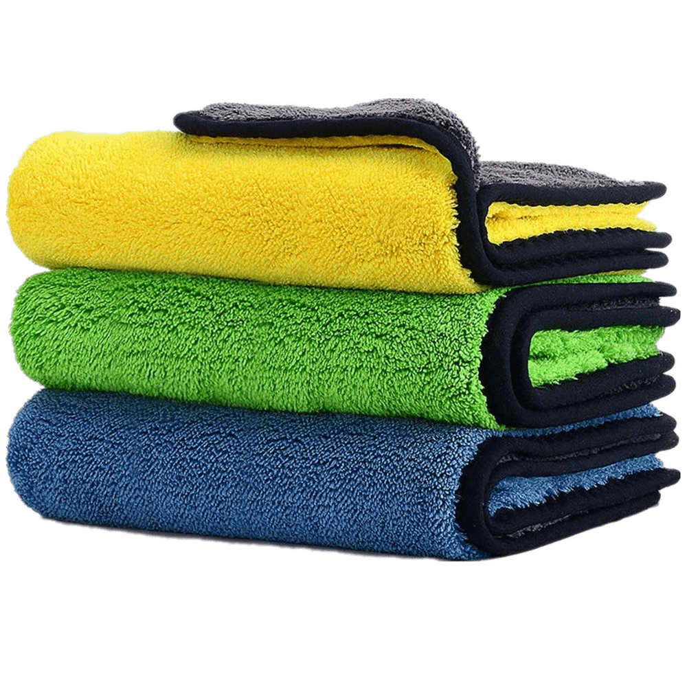 Car Microfiber Cleaning Cloth - Saniplex Solutions
