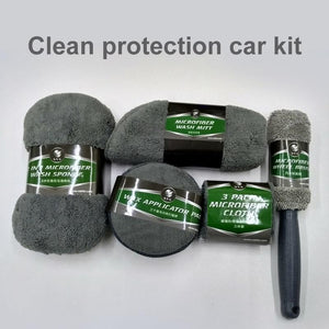 9pcs Car Cleaning Kit - Saniplex Solutions