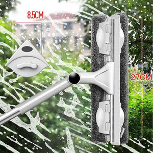 Window Cleaner Mop Glass Mop Telescopic Cleaner Rotating Head - Saniplex Solutions