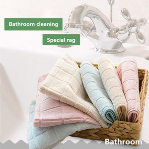 3 PCS Soft bathroom cleaning cloth,  napkins, kitchen towel rags - Saniplex Solutions