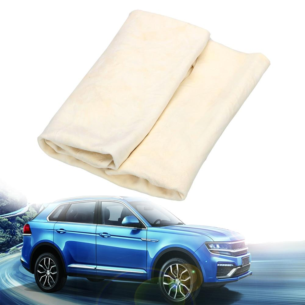 Natural Chamois Leather Wash Towel - Saniplex Solutions