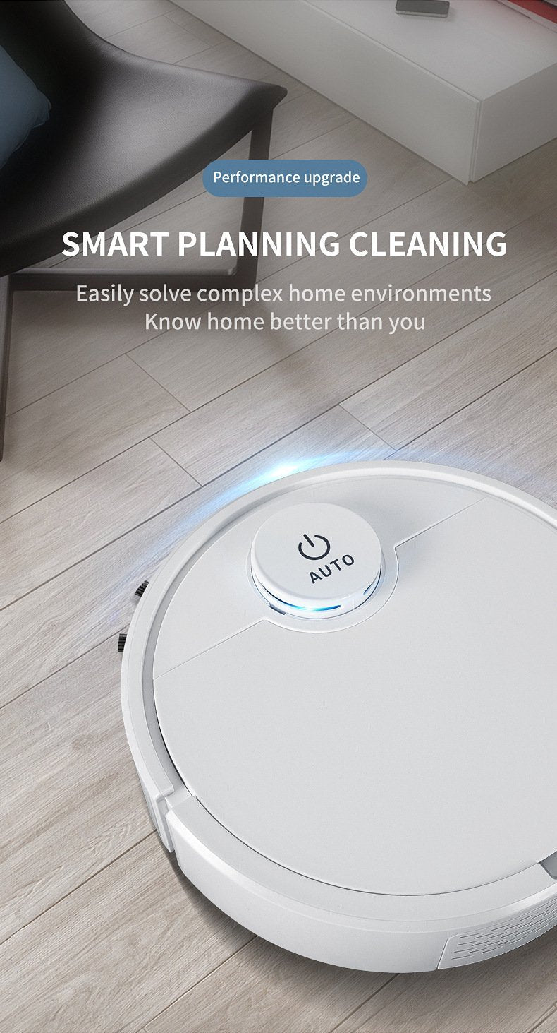Large Suction Robot Vacuum Cleaner 3 In One - Saniplex Solutions