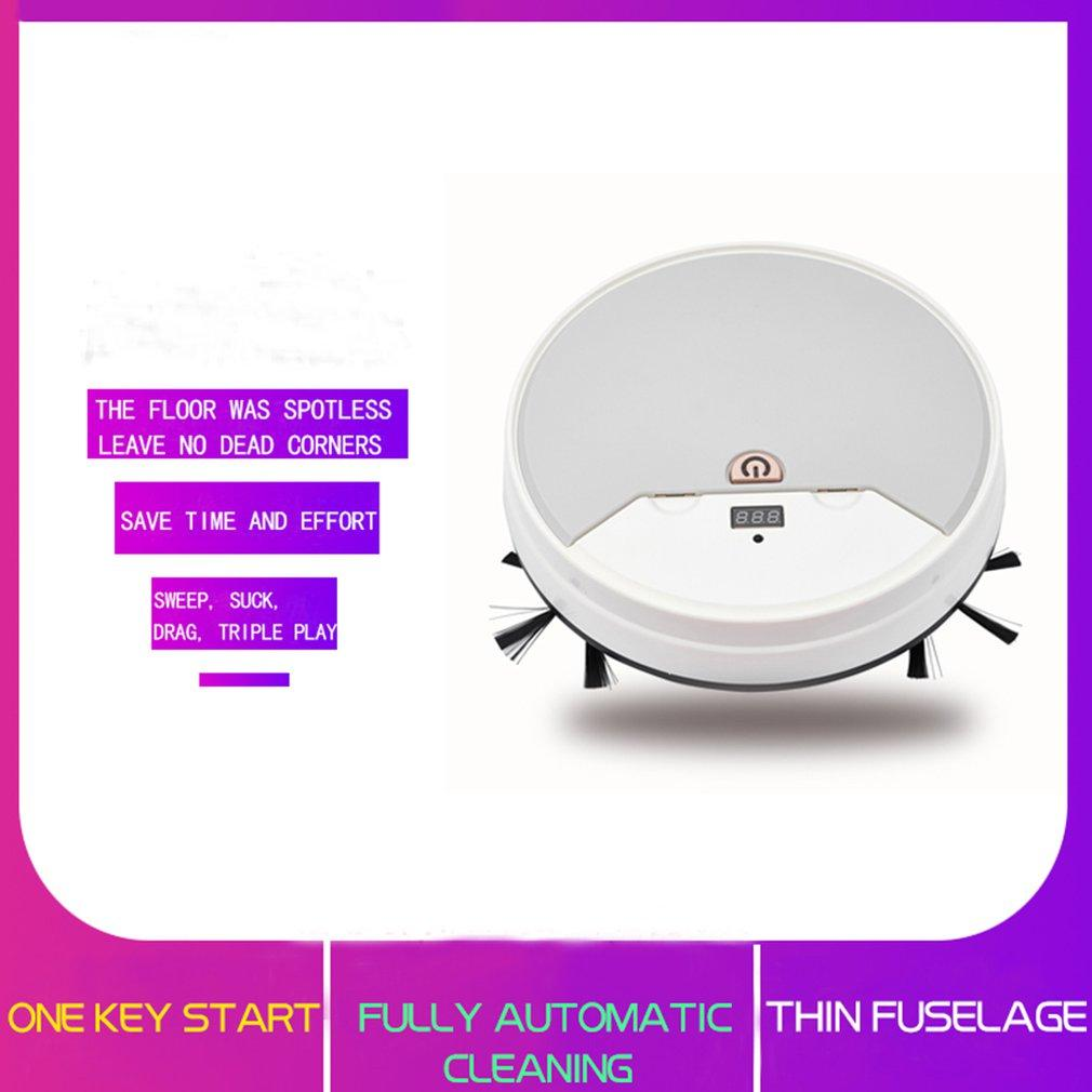 Charging Automatic Sweeping Robot  Lazy Smart Vacuum Cleaner - Saniplex Solutions