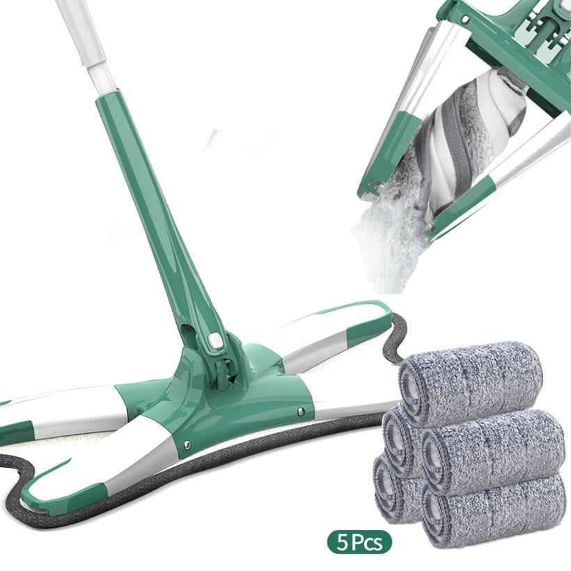 Superfine Mop Wet and Dry Dual-use  360 Degree Rotatable - Saniplex Solutions