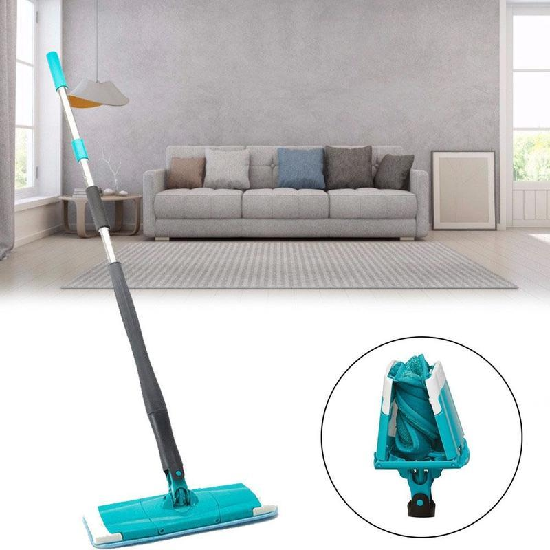 Rotating Mop 360 Spin Twist-Mop Hard Floor Cleaning Self-wringing Reusable Mops