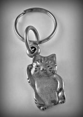 Welcome Cat ( Maneki-Neko ) Charm/  Earrings/ Pendant/ Keyring