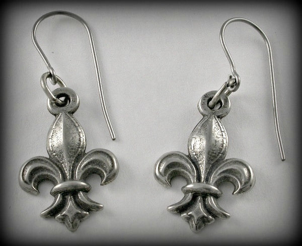 Fleur-de-Lis Charm/ Earrings/ Pendant/ Keyring