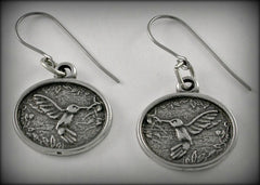 Hummingbird Charm/ Necklace/ Earrings/ Keyring