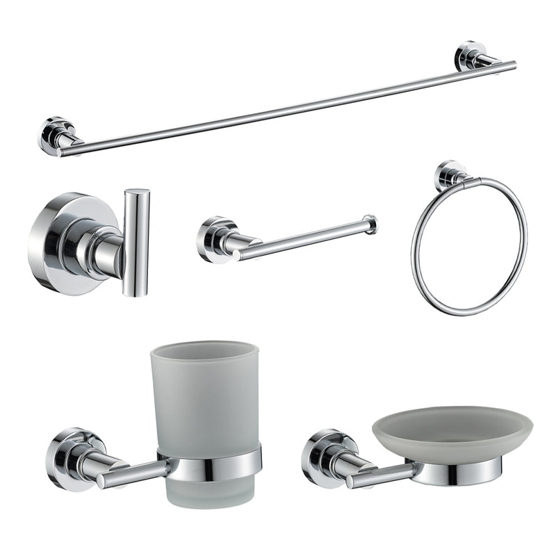 Chrome Accessories Set