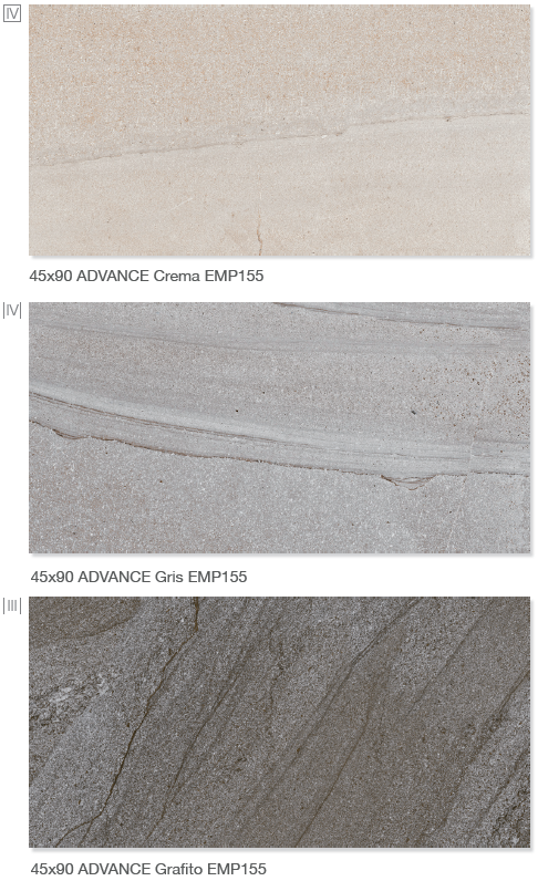 Advance Serie 45x90 - Floor Tiles