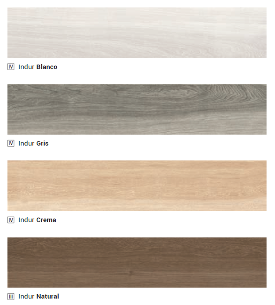 Indur Series 23x120 - Wooden Tiles