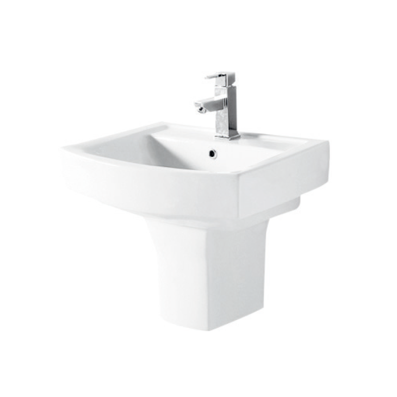 Ivory Half-washbasin bathroom set