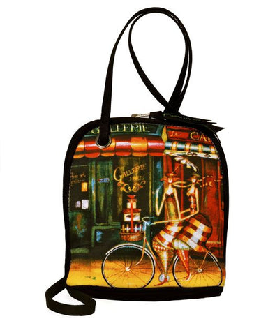 Cross Body Bag, Girlfriends by Artist Jennifer Garant