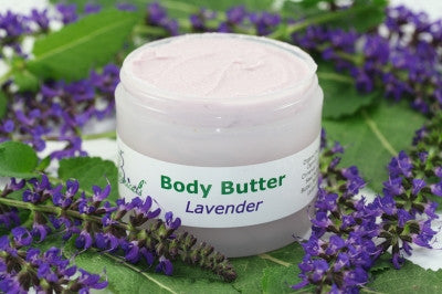 Lavender Body Butter - from Zosimos Botanicals