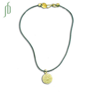 Om Mani Padme Hum Buddha Rubber Necklace