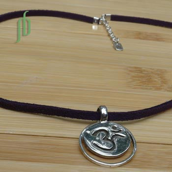 """Serenity"": Crown Chakra Necklace"