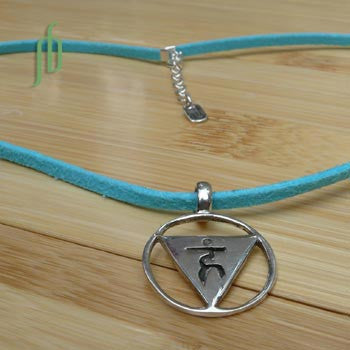 """Communication"": Throat Chakra Necklace"