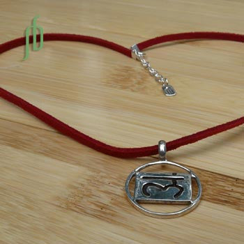 """Strength"": Root Chakra Necklace"