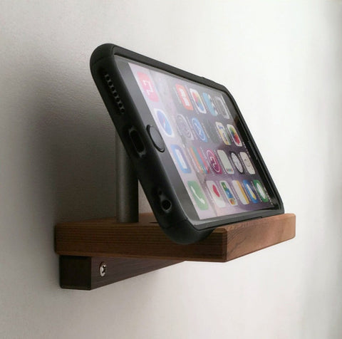 Angled Wall Mountable Cell Phone Holder