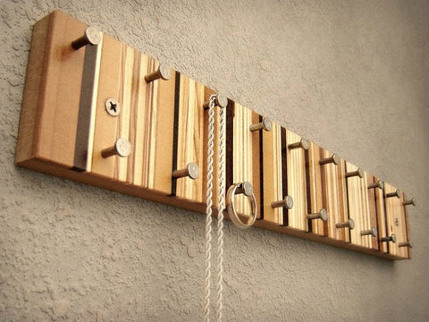 Wood Jewelry Hanger