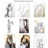 The Classic Horse | Wholesale Ready-to-Hang Canvas Prints