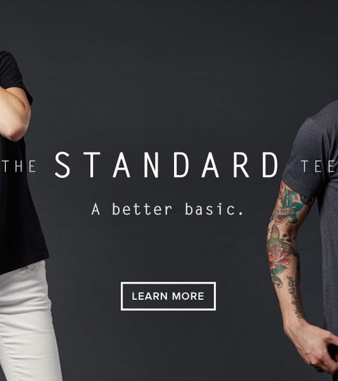 Introducing the Standard Tee