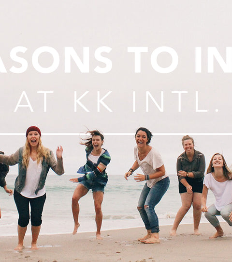 Five Reasons to Intern for KK intl.