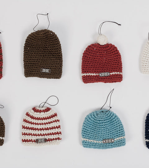 Beanie Ornaments by Krochet Kids intl.