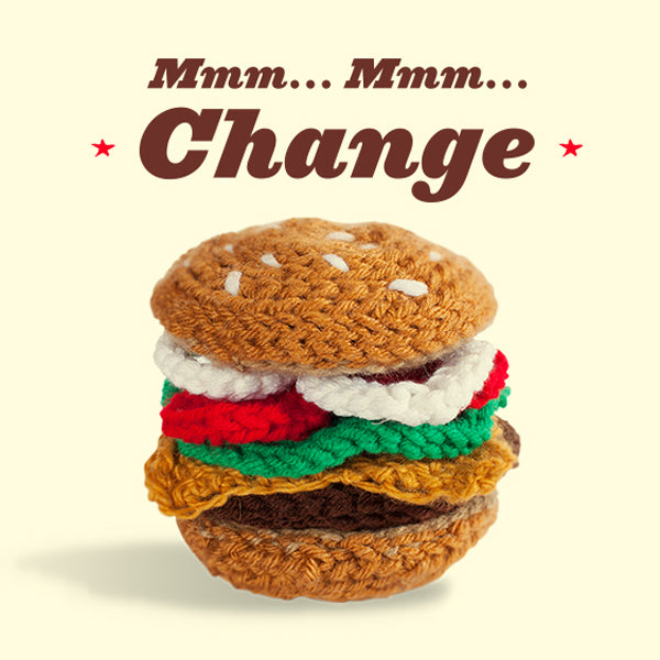 New Crochet Product: 'the Burger'