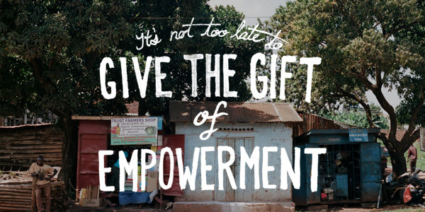Give the Gift of Empowerment on the last day of 2013