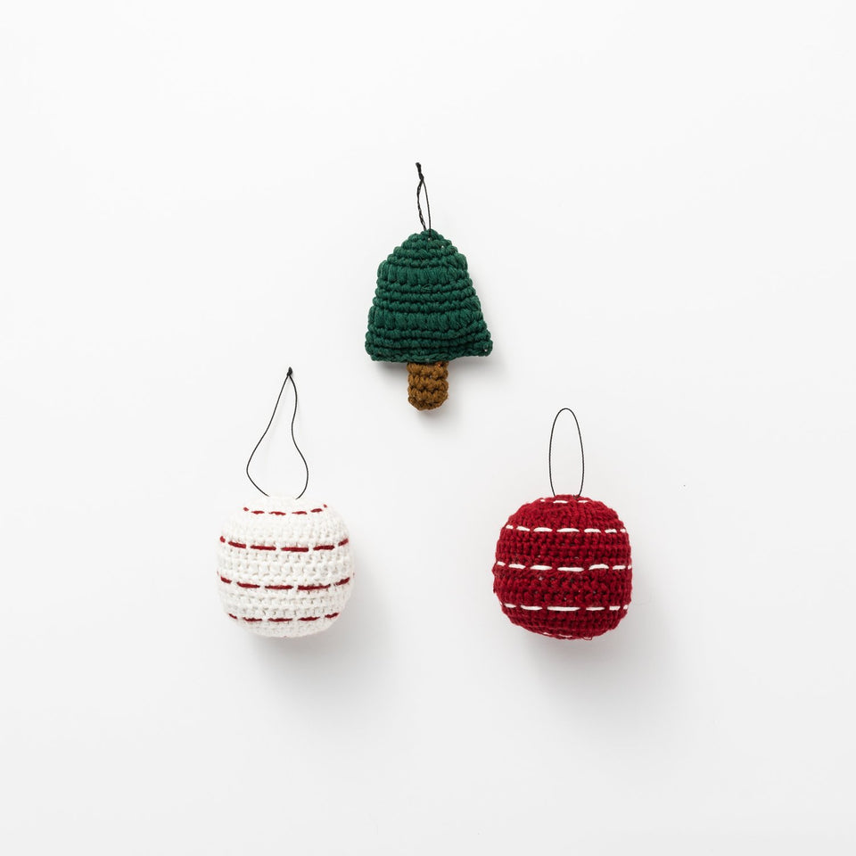 Winter Ornament Set