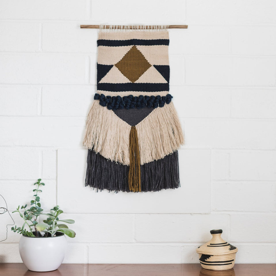 Woven Wall Hanging in Sunrise