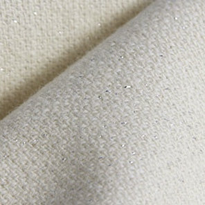 Silver Sparkle Wool Cloth