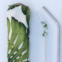Tropical Vine Glass Straw