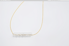 "Load image into Gallery viewer, Clear Braille Pendant ""LOVE"""
