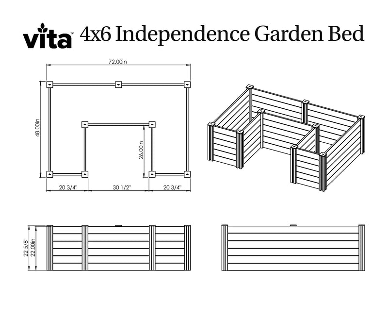 CLASSIC Independence Accessible Garden