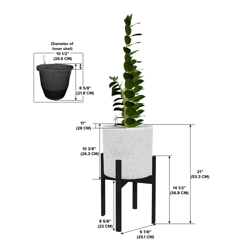 "Växa 11"" Self-Watering Planter"