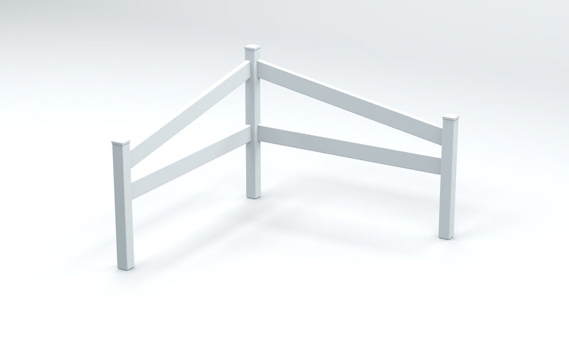 Split Rail Corner Fence