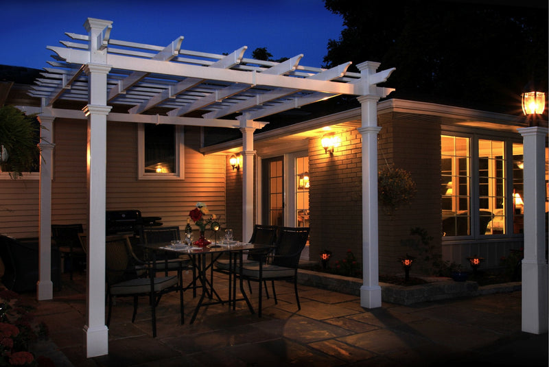 Pergola Short Base Moldings - 4 PK