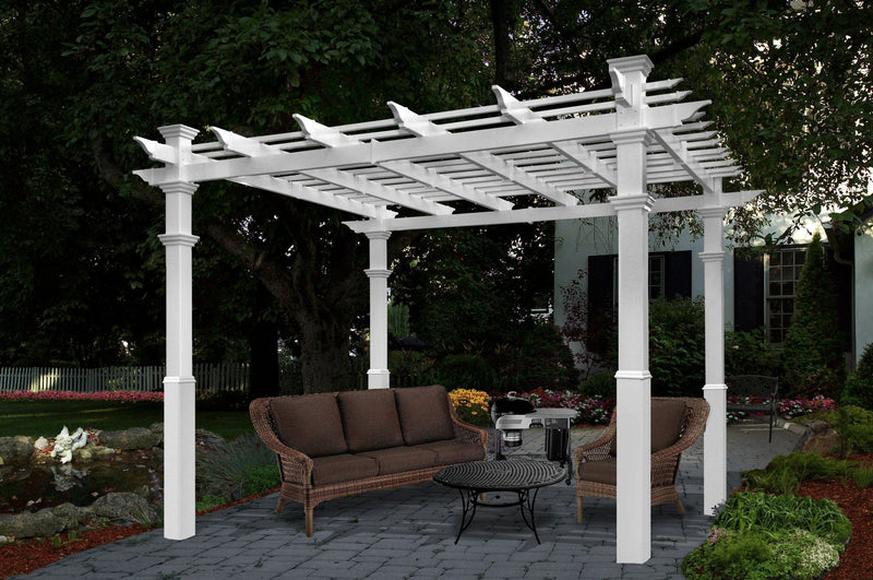 Pergola Tall Base Moldings - 4 PK
