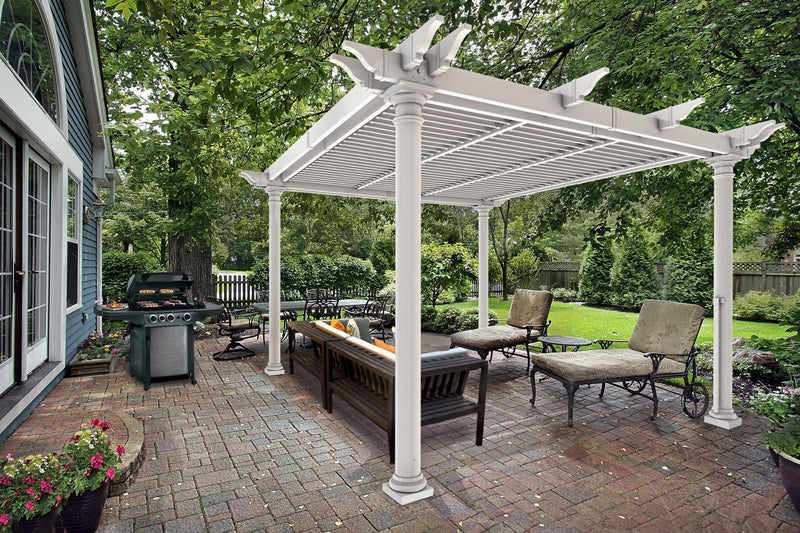 10x10 Preston Louvered Pergola