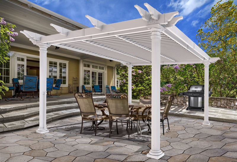 12x12 Aberdeen Louvered Pergola