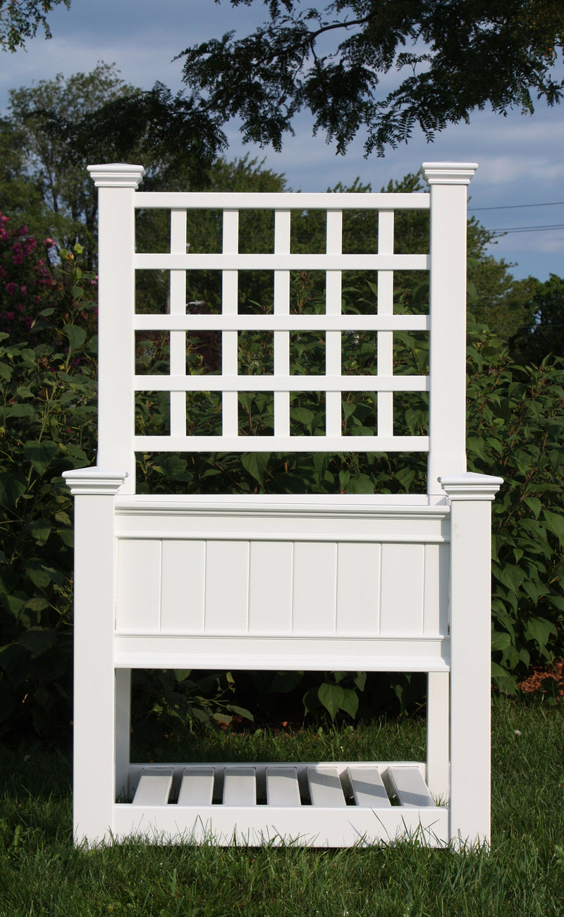 CLASSIC Kingsrow Elevated Garden with Trellis