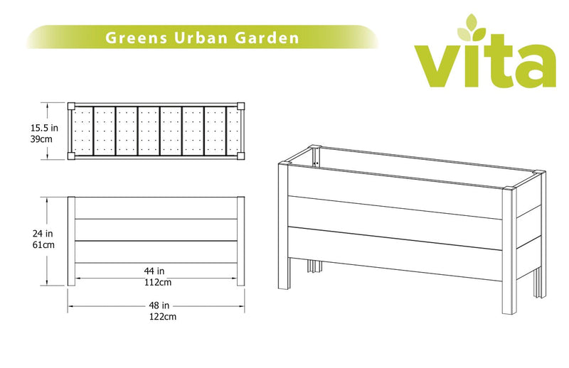 URBAN Greens Elevated Garden
