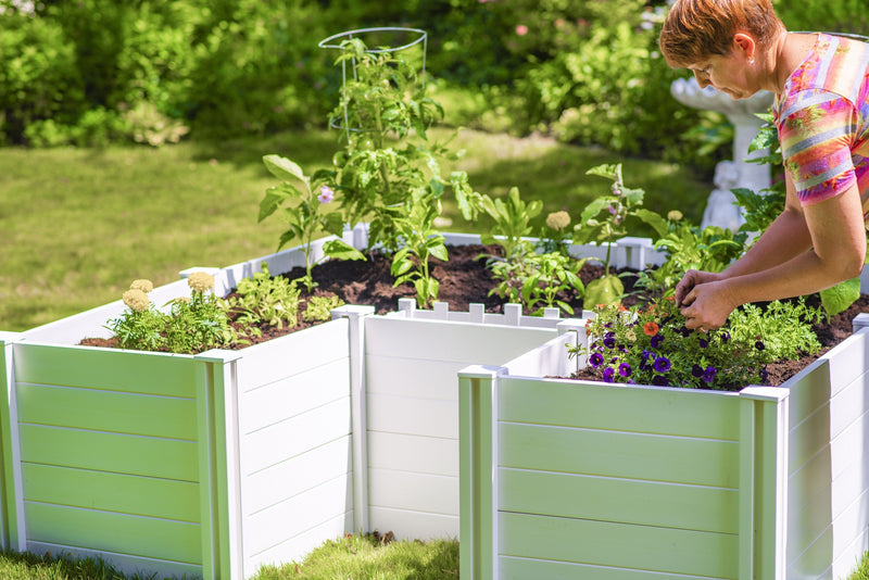 CLASSIC 6x6 Keyhole Composting Garden