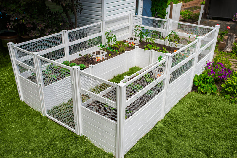 CLASSIC 8x12 Keyhole Composting Garden
