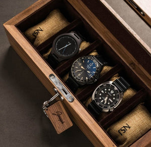 High quality luxury wooden watch box by nsjstylishstore